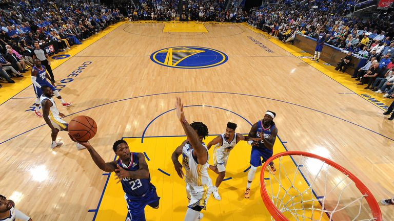 LA Clippers demolish Golden State Warriors in Chase Center opener | NBA News |