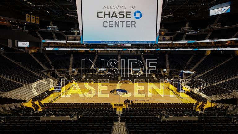 Inside Chase Center with Golden State Warriors president and COO Rick Welts - credit: Jason O'Rear/Chase Center