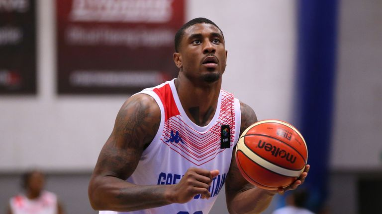 Ovie Soko in action for Great Britain