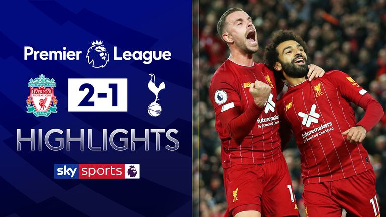 FREE TO WATCH: Highlights from Liverpool's win over Tottenham in the Premier League