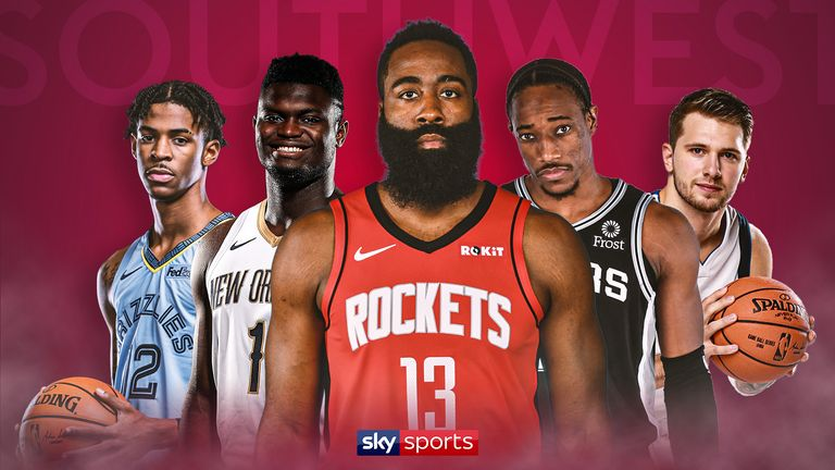 Who will win the Southwest division in 2019-20?