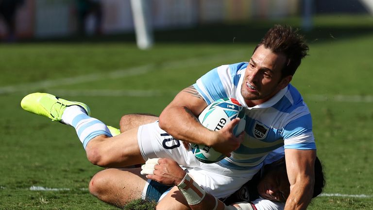 Argentina 47-17 USA: Pumas bow out with bonus-point win