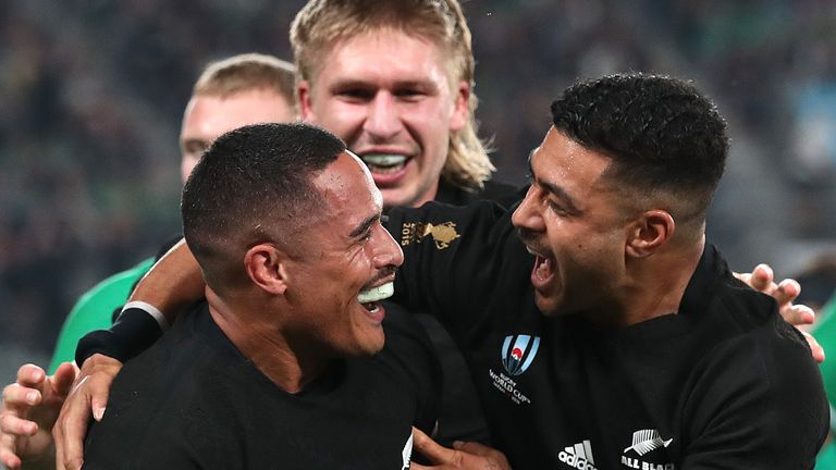 The All Blacks were clinical in their finishing from start to finish