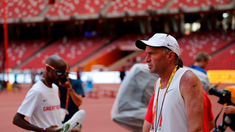 Mo Farah was coached by Salazar between 2011 and 2017 - Farah is not accused of any wrongdoing