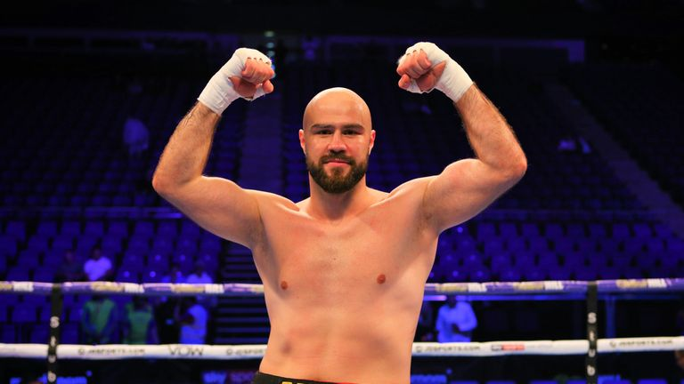 Babic marked his UK debut with a knockout win in under a minute at The O2