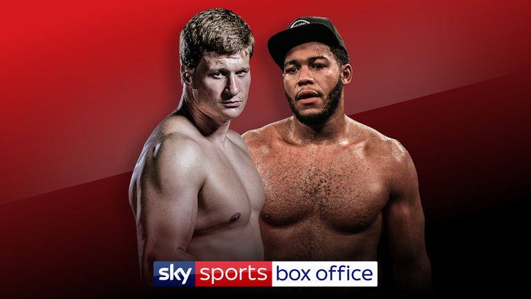 Alexander Povetkin also battles Michael Hunter in another heavyweight clash