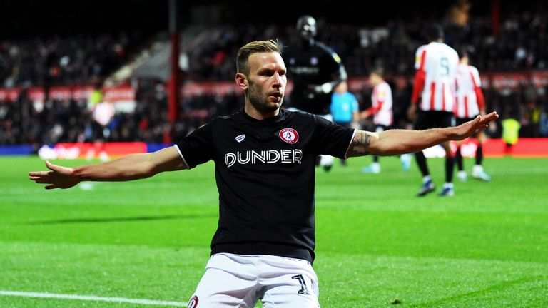 Bristol City forward Andi Weimann