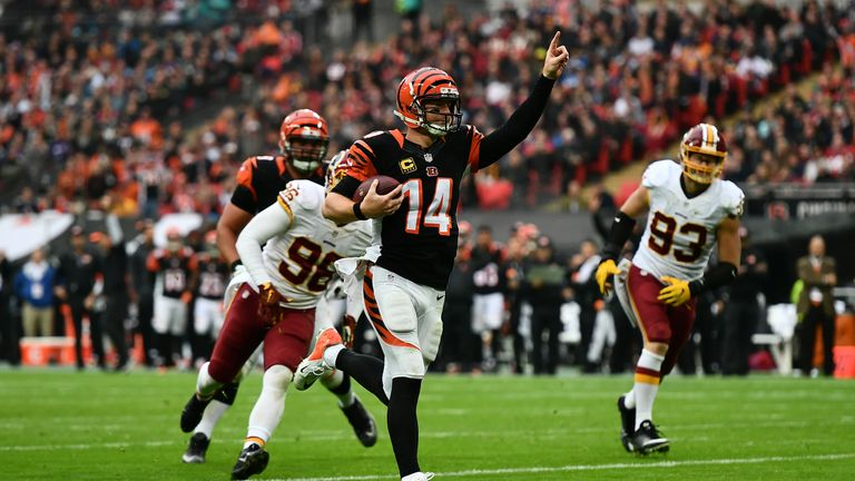 The Bengals and Redskins played out the first tie in the U.K.!