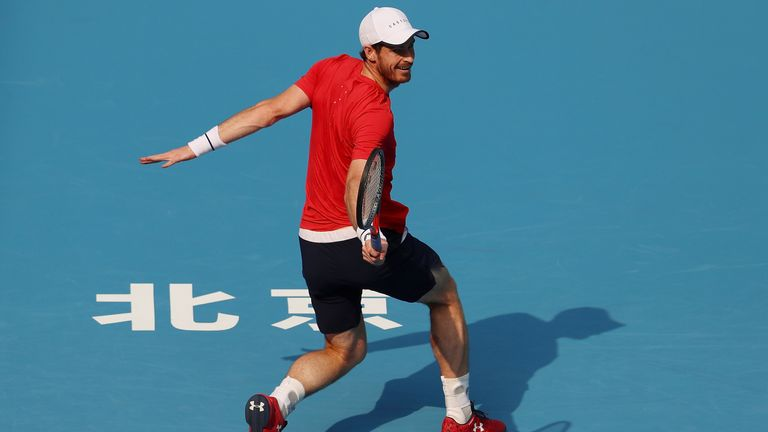 Murray will next face fellow Briton Cameron Norrie after the most impressive display of his return to fitness