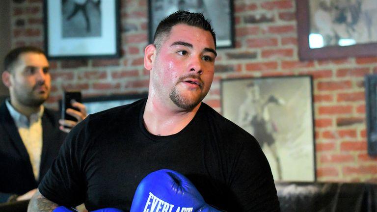 Andy Ruiz sends warning to Anthony Joshua ahead of heavyweight clash