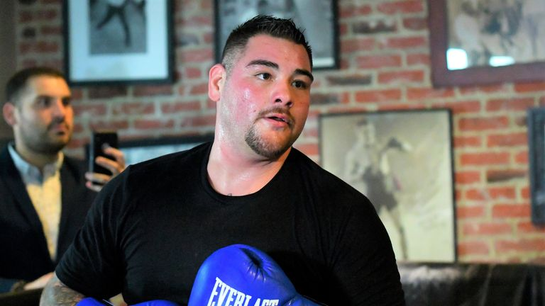 Andy Ruiz Jr is preparing for a second world title fight against Anthony Joshua