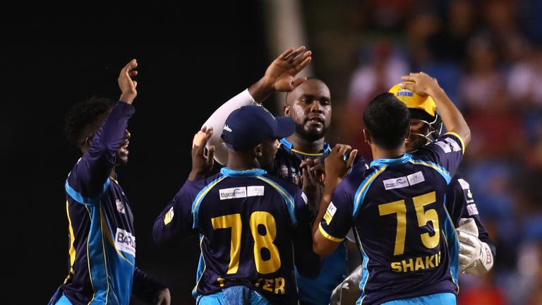 Barbados Tridents vs Trinbago Knight Riders | Sky Sports Live Cricket