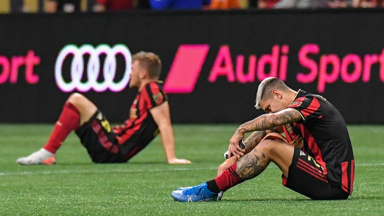 Atlanta United will not be defending their MLS Cup title next month (Pic: USA Today/MLSsoccer)