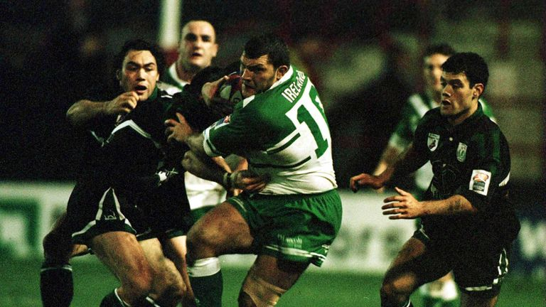 Barrie McDermott represented Ireland at the 2000 World Cup