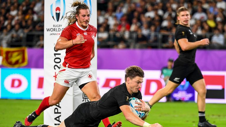 Defending champions New Zealand have won all their matches at the Rugby World Cup so far
