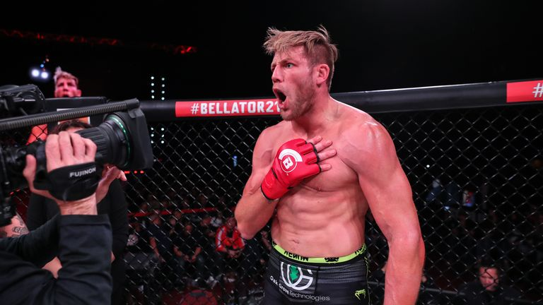Hager will fight on the main card at Bellator 231 on October 25