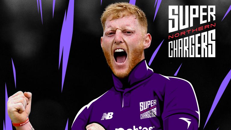 La estrella inglesa Ben Stokes se ha unido a los Superchargers del Norte para The Hundred