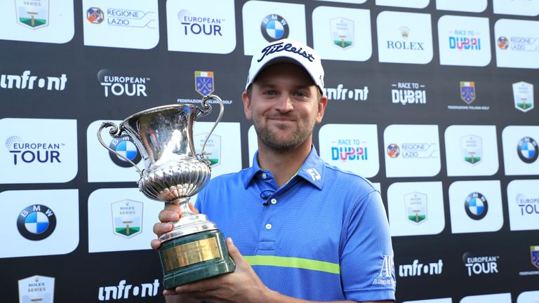 Wiesberger's victory was his third of the year on the European Tour