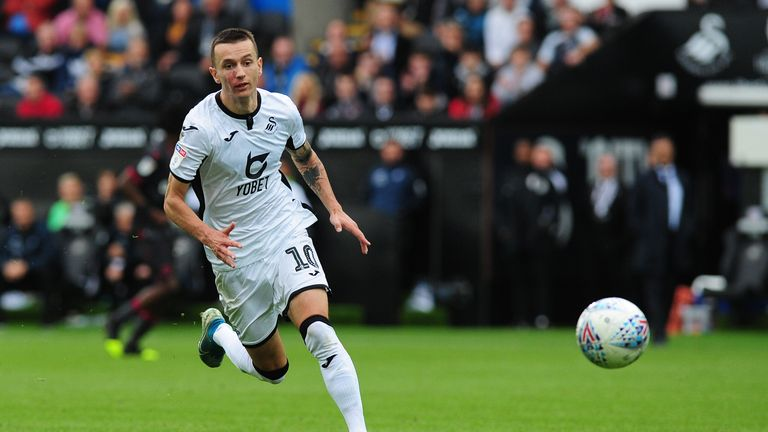 Bersant Celina could be in line for a recall to the Swansea starting line-up on Sunday
