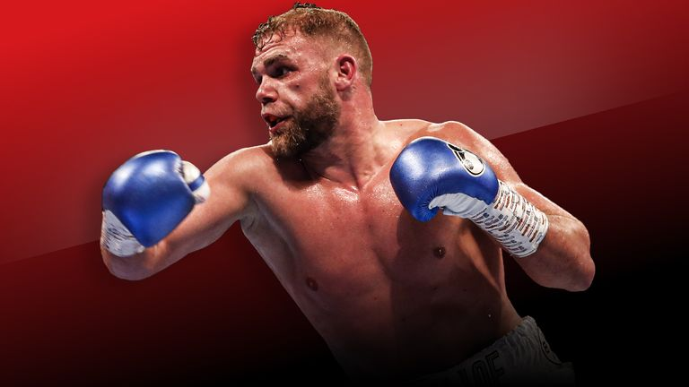 Billy Joe Saunders will return to the ring against Marcelo Esteban Coceres
