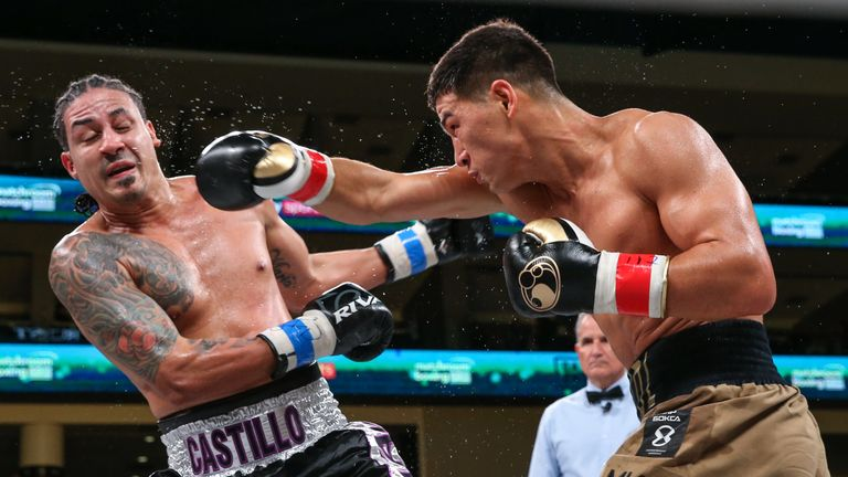 Usyk vs Witherspoon: Dmitry Bivol outpointed Lenin Castillo in world title defence