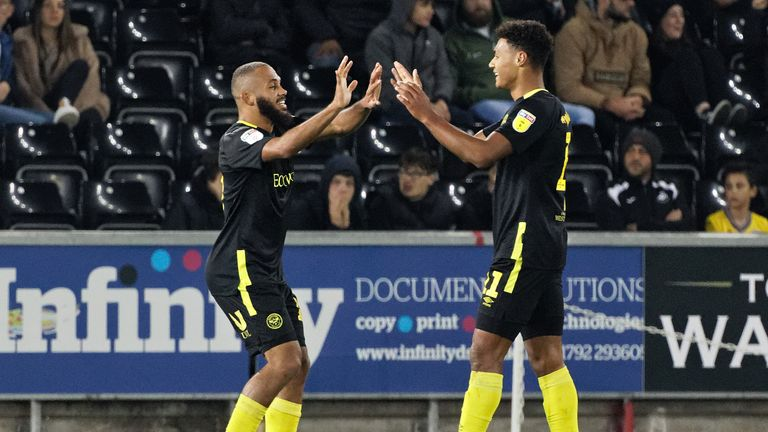 Bryan Mbeumo and Ollie Watkins have scored 11 goals between them so far this season