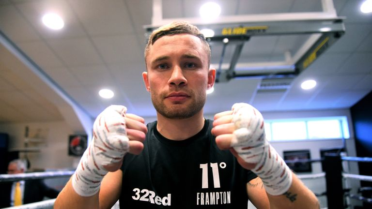 Carl Frampton returns to America for his next fight