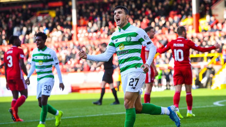 Celtic travel to Aberdeen this weekend