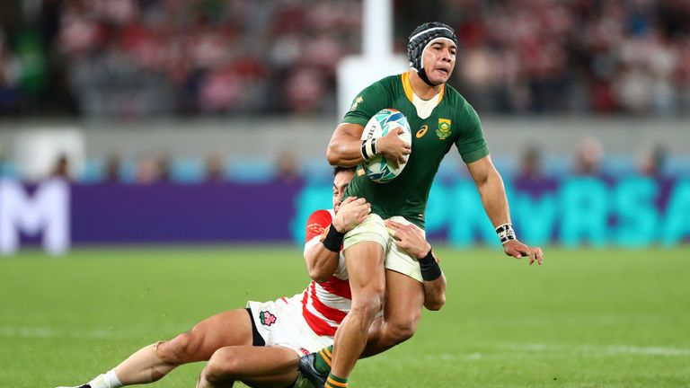 Cheslin Kolbe would have been Stuart Barnes' pick for world player of the year