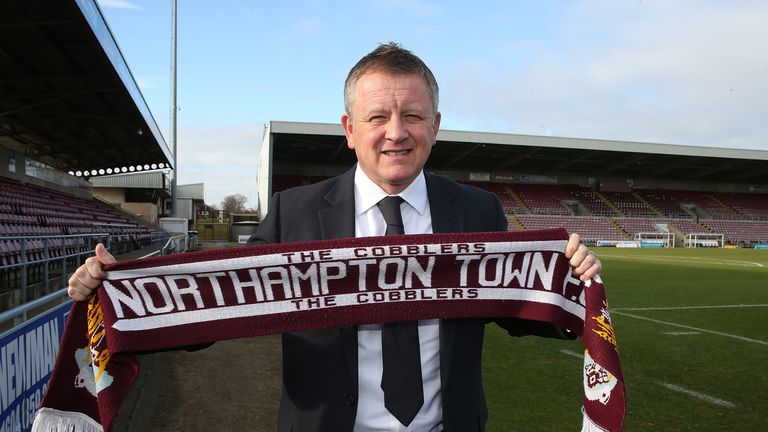 Wilder made the surprise call to join struggling Northampton in 2014