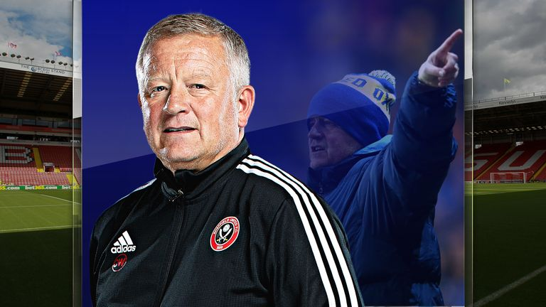 Sheffield United manager Chris Wilder has worked his way up from the bottom