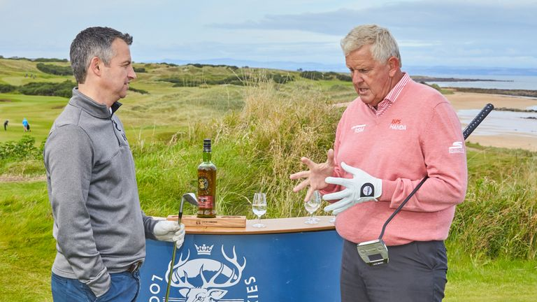 Colin Montgomerie chats to Sky Sports' Johnny Phillips about his love of Leeds United