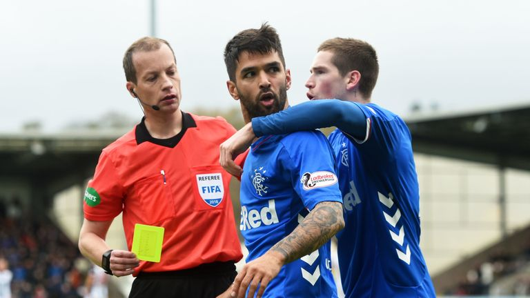 Rangers made a formal complaint to the Scottish Football Association about referee Willie Collum