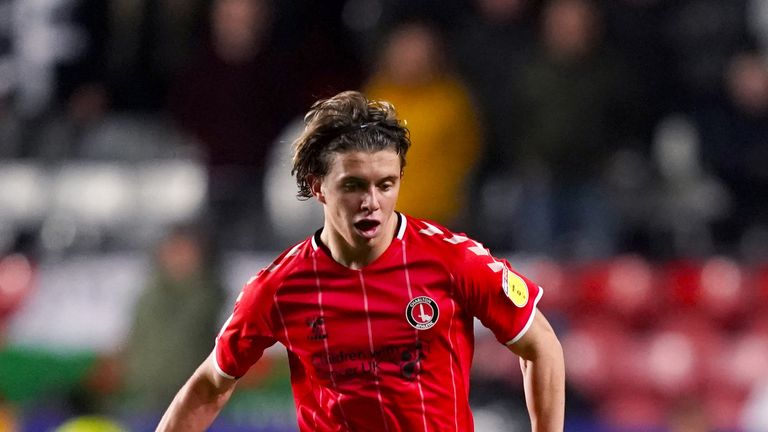 Charlton Athletic's Conor Gallagher