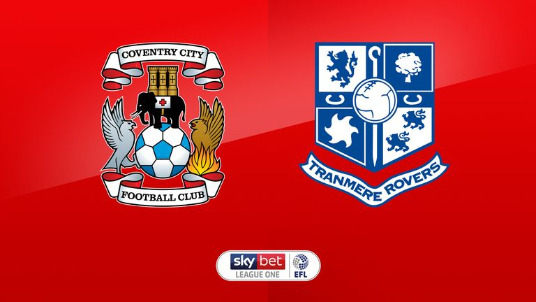Live on Sky: Coventry vs Tranmere