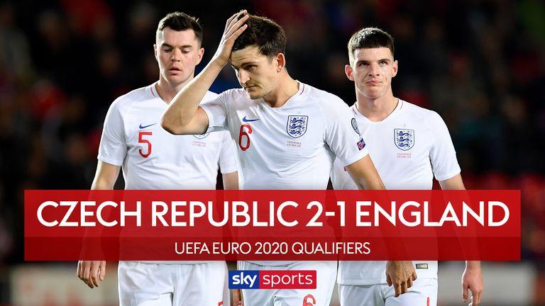 Czech Republic 2-1 England