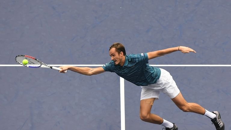 Daniil Medvedev is flying and has 59 tour-level wins in 2019