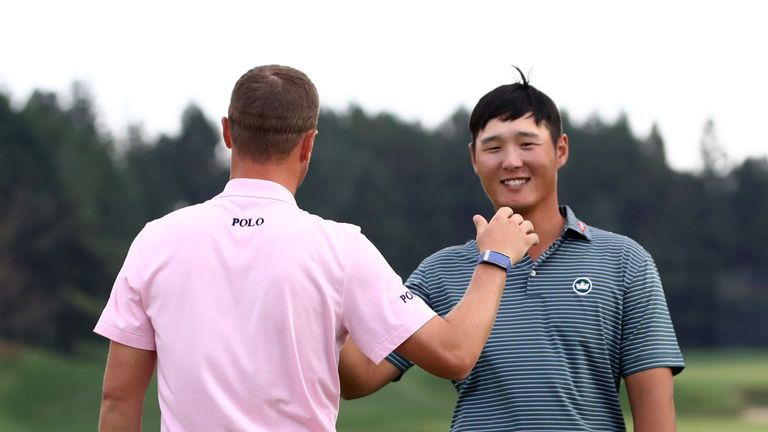 Thomas wins second CJ Cup title