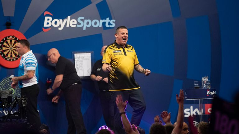 Dave Chisnall booked his place in the second round by ending the hopes of sixth seed Gerwyn Price
