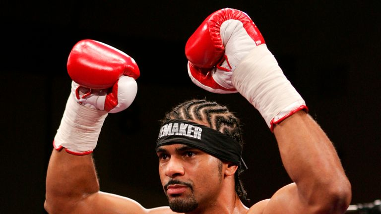 David Haye used David Price as a sparring partner