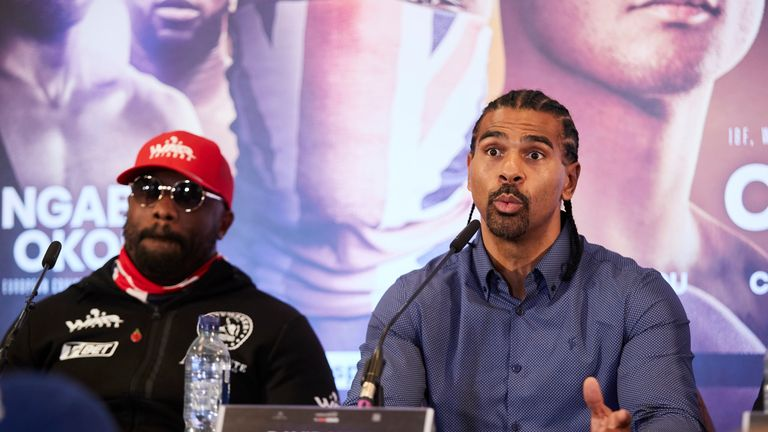 Chisora's manager David Haye has been trying to secure the Usyk fight