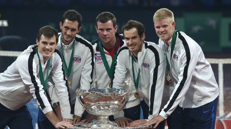 Andy Murray makes Great Britain's Davis Cup squad, Kyle Edmund misses out