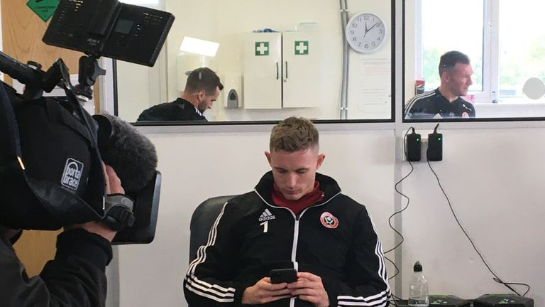 Dean Henderson recovers after the Arsenal win