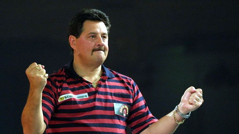 Dennis Priestley beat Phil Taylor in the first PDC final at the Circus Tavern
