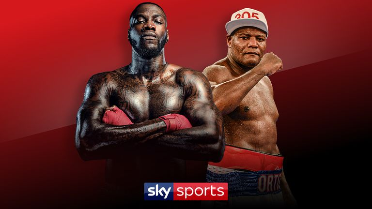 Deontay Wilder's rematch with Luis Ortiz is live on Sky Sports