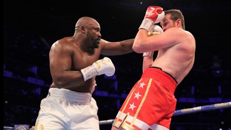Derek Chisora completed a stoppage win over David Price