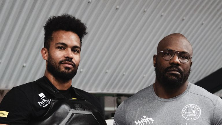 Derek Chisora has linked up with trainer Steve Broughton for the David Price fight