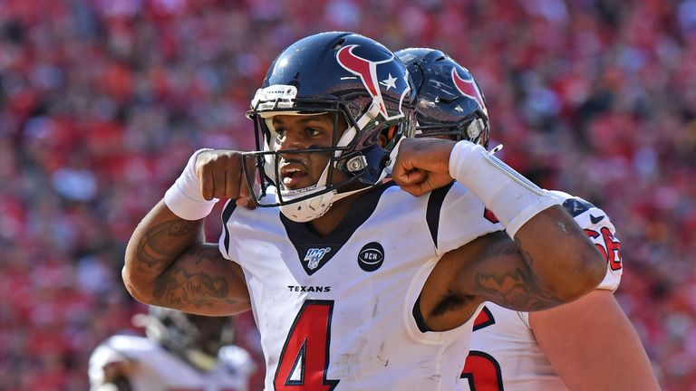 Deshaun Watson has been doing it all for the Texans