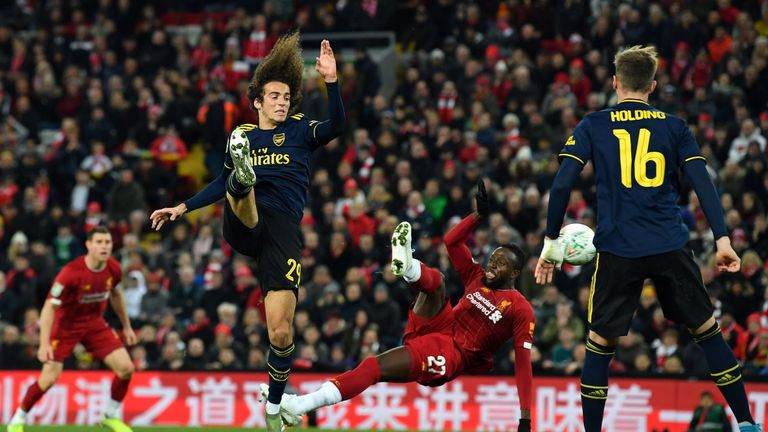 Divock Origi sends the game to penalties with his 94th-minute leveller