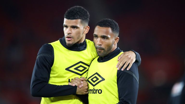 Dominic Solanke joined Bournemouth last January while Callum Wilson is attracting interest